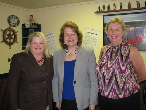Jayne Armstrong, Delaware District Director, Small Business Administration, Administrator Canales and Denise MacLeish, USDA Rural Development Business and Community Program Director discuss small business support efforts in Delaware.
