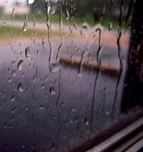 dark rainy