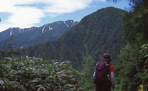 a hiker