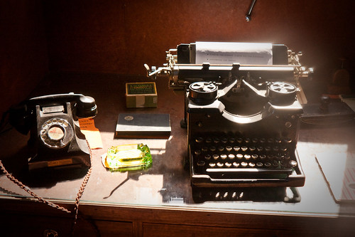 Telephone And Typewriter