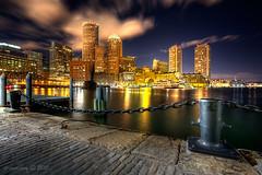 Boston At Night 5