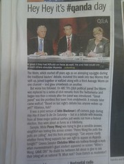 my #qanda tweet makes The Age