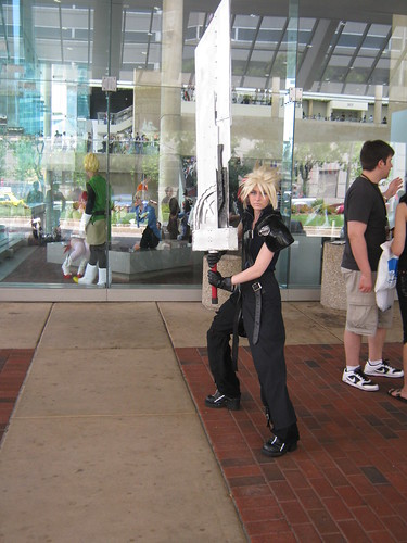 Cloud Cosplay Otakon 2010