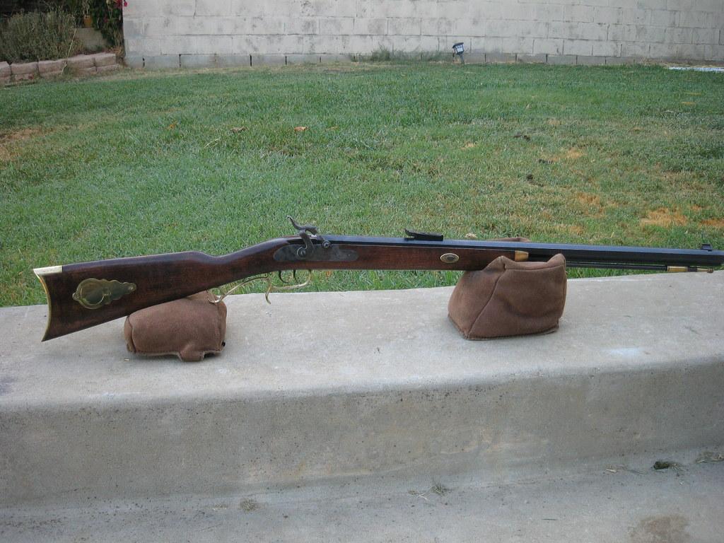 My Hawken rifle and 1850 Colt black powder - Calguns net