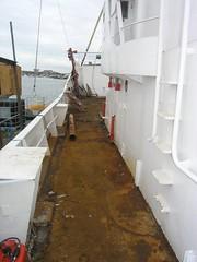 Clear deck