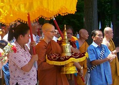 """Buddhist Relic Procession,"" Amanda Pruitt."