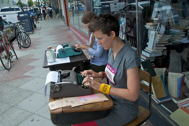 826 Day Write-a-thon for 826 Valencia by Steve Rhodes