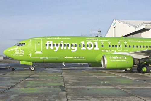 An Airline with a sense of humour!