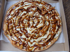 Poutine Pizza (knightbefore_99) Tags: cheese vancouver lunch dish gravy canadian pizza national fries poutine commercialdrive curds eastvan thedrive brado
