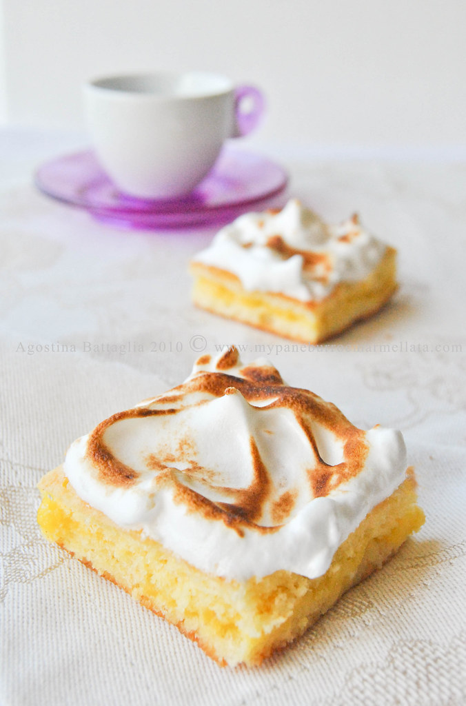 lemon meringue chiffon cake (petite)