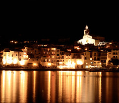 LUCES (MARISA1005) Tags: color luces noche cadaques