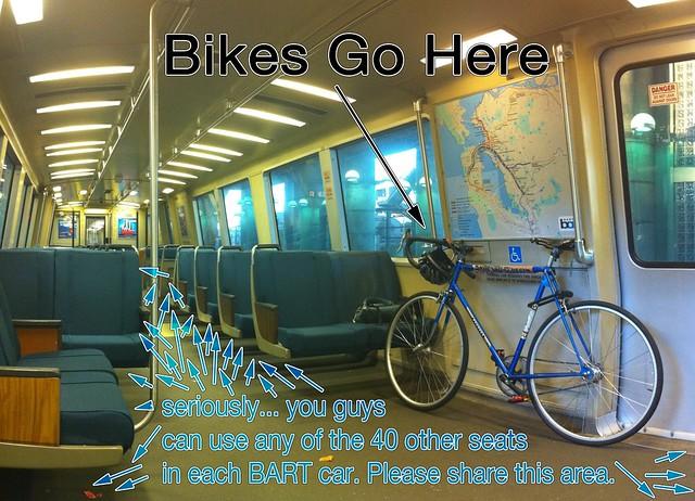 Bikes Go Here.
