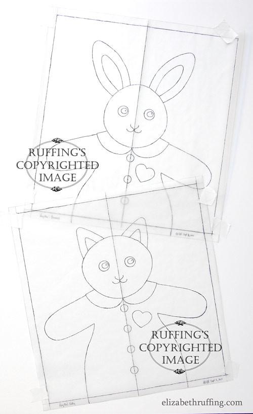 Hug Me! Bunny and Hug Me! Kitty by Elizabeth Ruffing