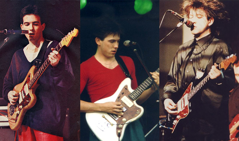 Guitar Blog: Robert Smith's custom Fender Jazzmaster
