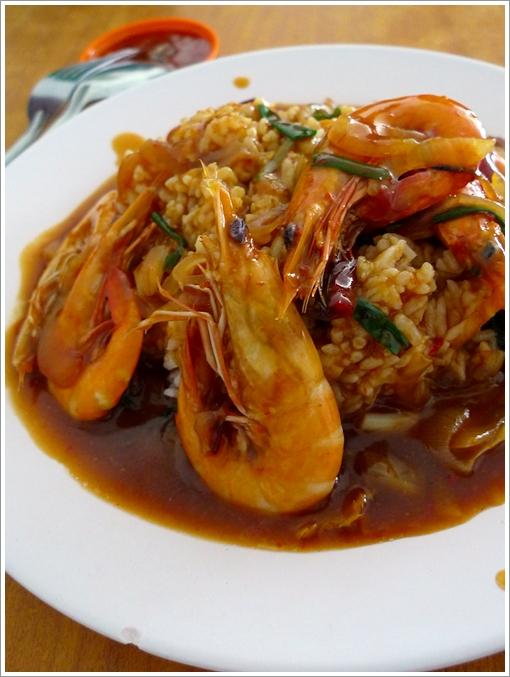 Kung Pow Prawn Rice