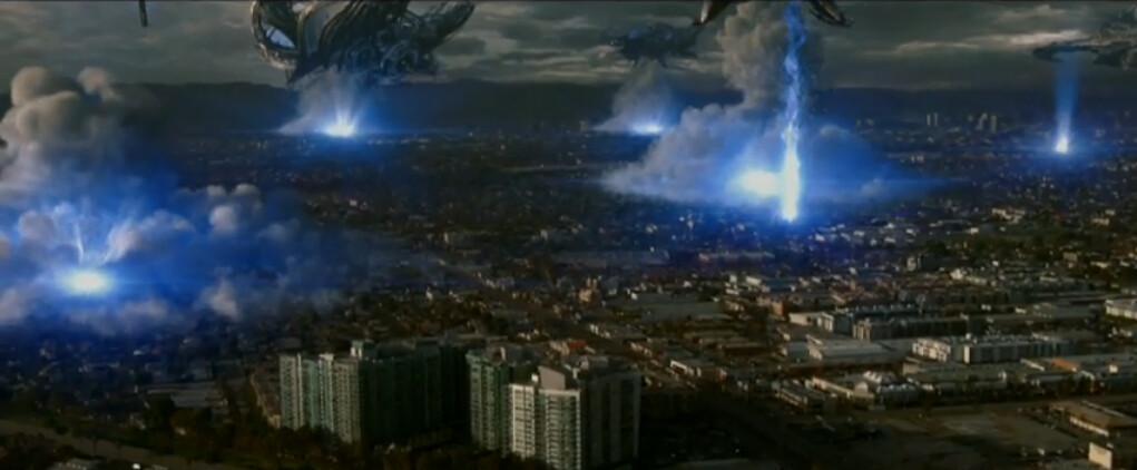 Universal Pictures Skyline 2010 movie alien invasion film