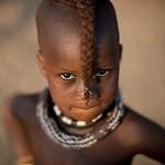 Himba twin in Okopale - Namibia