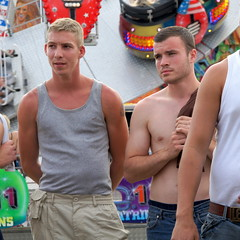 Back, by popular request (CharlesFred) Tags: shirtless lads racing surrey lad horseracing derby thederby englad ladz thedowns epsomdowns englishlads epsomderby surreydowns derby2010 workforcesderby shirtlesslads
