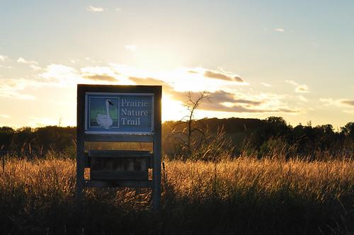 Prairie Nature Trail Sign DSC_1305