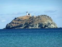 Barcaghju : La Giraglia depuis la plage
