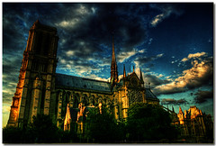 Notre Dame de Paris - France (sergio.pereira.gonzalez) Tags: paris france church photoshop cathedral catedral iglesia igreja francia franca eglise hdr notredamedeparis cathdral photomatix tonemapping sergiopereiragonzalez