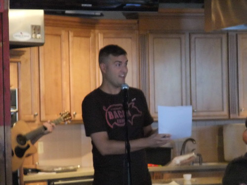 Nick Hosting Bacon Camp