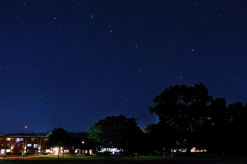 Big Dipper Over Wingra Park