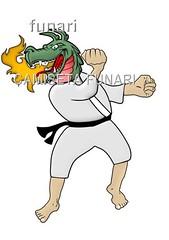 desenho foto lutador dragao luta tatoo