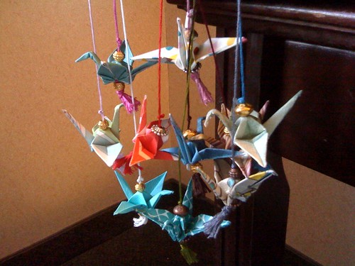 Crane Bookmarks
