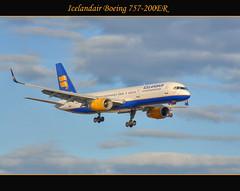 Icelandair Boeing 757-200ER (Calvin J.) Tags: toronto ontario canada plane high airport dynamic aircraft international adobe passenger boeing range hdr pearson yyz icelandair cs4 photomatix 757200er mississuaga nikond90 nikkor70200mmf28gifedafs