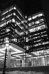 Fade to black (Francis21Lefebvre) Tags: city blackandwhite night skyscraper nightshot noiretblanc ottawa fade nuit ville immeuble dégradé fadetoblack gratteciel