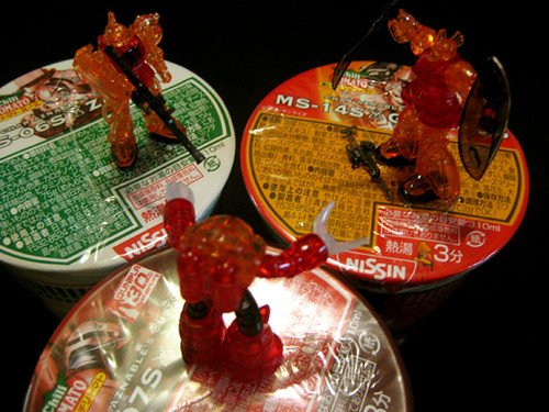 Nissin Cup Noodles Char Aznable's Custom