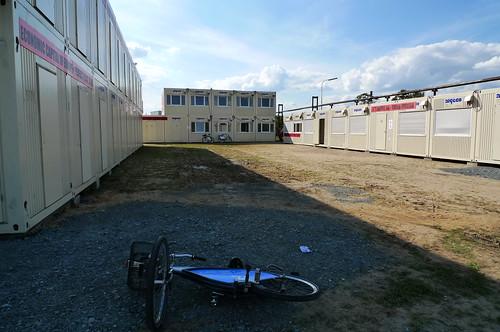 Container Dorf Projekt M im Offenbacher Hafen