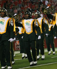Norfolk State Spartan Legion (Kevin Coles) Tags: football marchingband 2010 nsu piscataway spartans hbcu meac blackcollegebands norfolkstate norfolkstateuniversity spartanlegion highpointsolutionsstadium