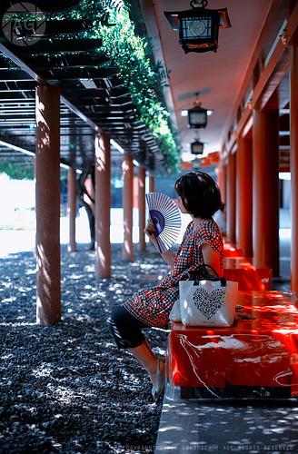 The shady spot; Hie Shrine, Akasaka, Tokyo