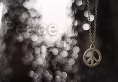 Peace (MJ ) Tags: white color colors canon logo eos focus peace bokeh f18 ef 2010 40d