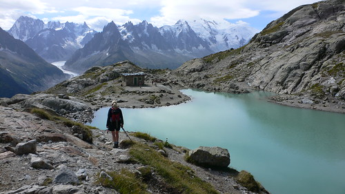 Lac Blanc above Chamonix