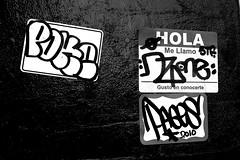NYC Stickers (LoisInWonderland) Tags: newyorkcity streetart graffiti sticker stickerart