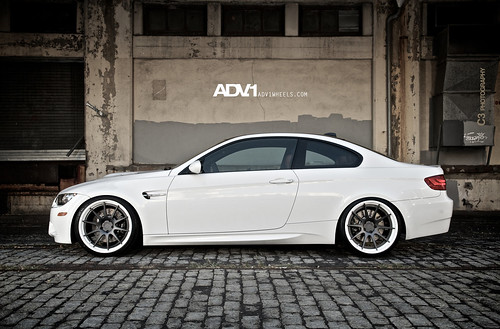 bmw e92 M3 on Deep concave