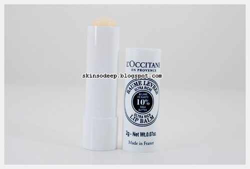 loccitane ultra rich lip balm 02