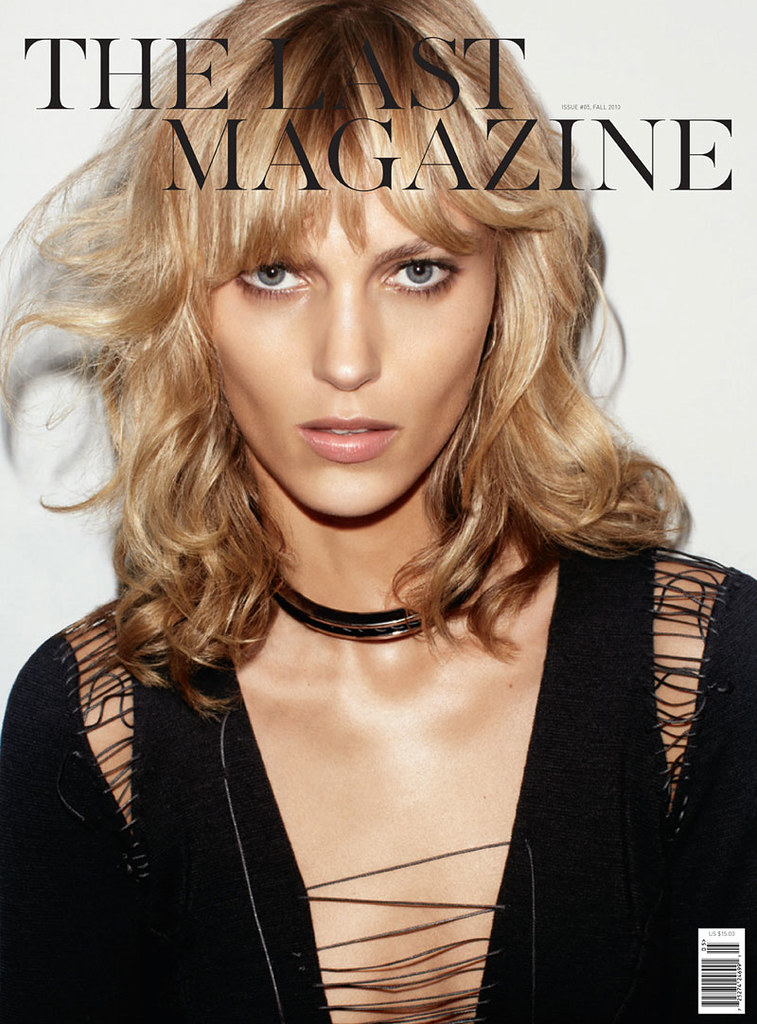 The Last Magazine FW 2010 Cover Anja Rubik by Maciek Kobielski