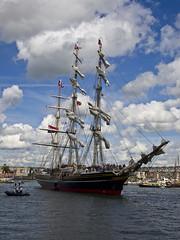Sail 2010 - Stad Amsterdam (Marc Rauw.) Tags: netherlands amsterdam sailboat geotagged sailing kitlens olympus tallship olympuspen stadamsterdam m43 oostelijkhavengebied easterndocklands 1442mm sail2010 epl1 microfourthirds μ43 geo:lat=52377760088056625 geo:lon=4918870066131603