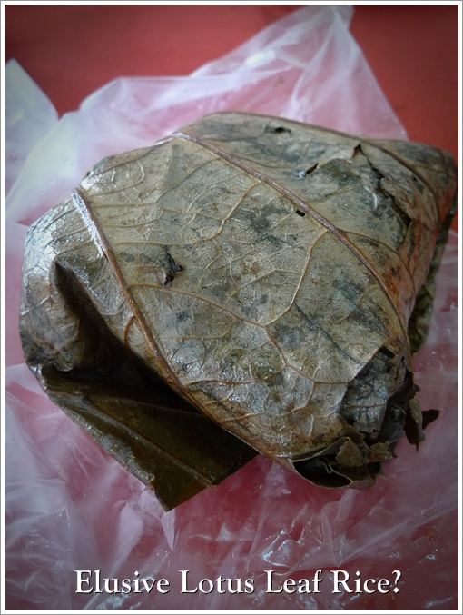 Lotus Leaf Rice @ Ying Fa