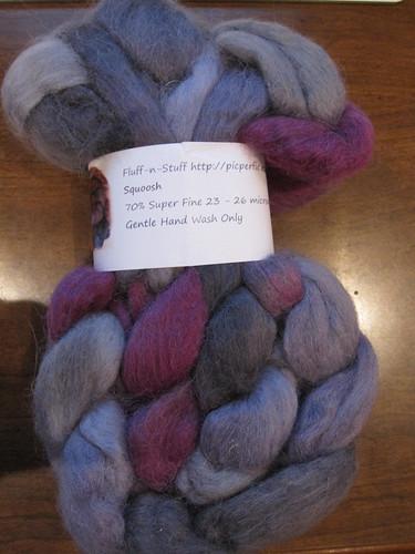 Fluff-n-stuff alpaca/BFL top