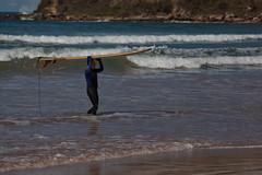 Surfer on Umina Beach (Craig Jewell Photography) Tags: beach waves surfer wave australia nsw surfboard centralcoast f40 umina iso50 ef200mmf28lusm 13200sec canoneos5dmarkii cpjsm craigjewellphotography