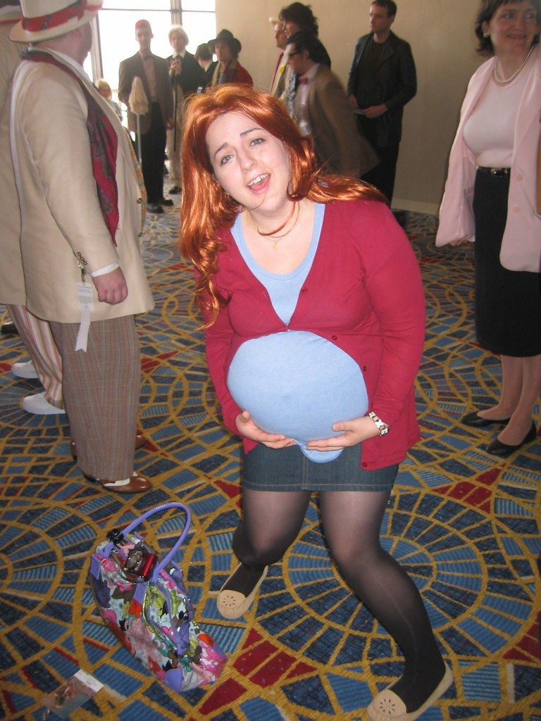 fake pregnant costume & fake silicone pregnant belly baby bump doll