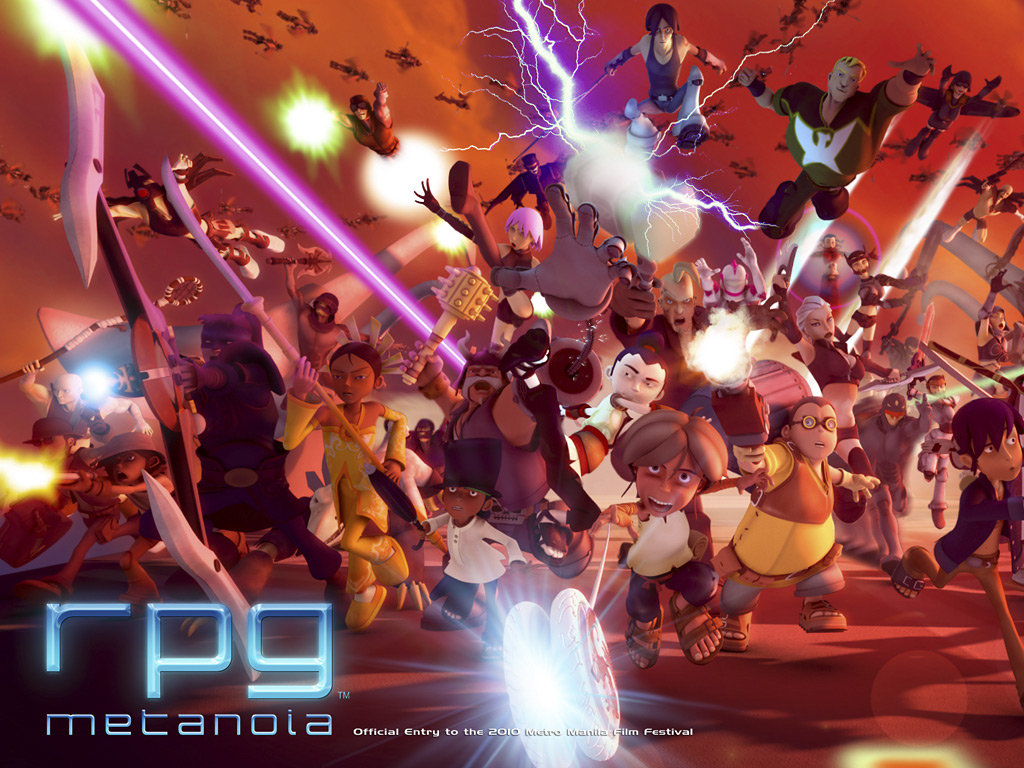 Philippines' first 3-D animated feature film RPG Metanoia