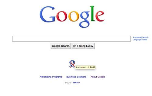Google 9/11 2010
