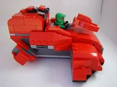 Halo entry (yelling softly) Tags: lego halo elite spartan wraith