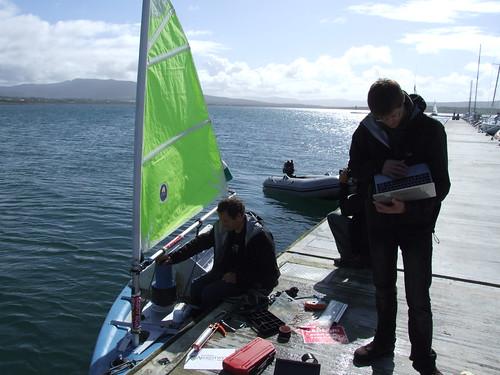 robot sailing pinta microtransat